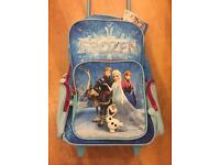 BRAND NEW FROZEN backpack-wheeled suitcase in one ❄️❄️❄️