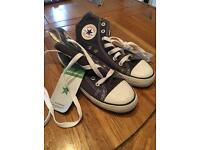 Converse All Stars. One pair new. Other worn once around house.