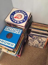 Massive dance record collection