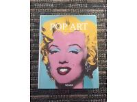 Hard back Pop Art book by Tilman Osterwold