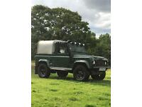 Land Rover defender 300TDI, new chassis, wax oiled