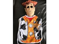 Woody Toy Story Costume Mask and Tabard