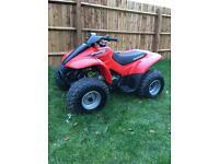 Honda Sportrax 90cc quad. Excellent condition.