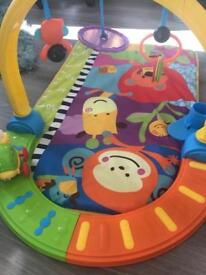 Baby Play Gym with moving musical snail