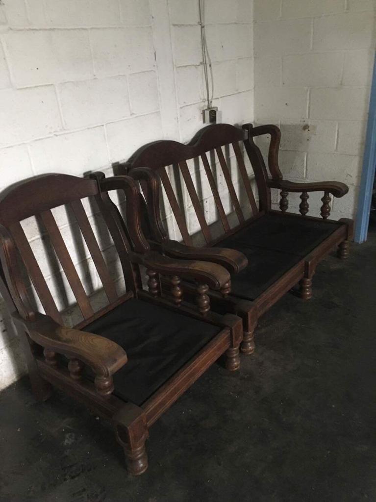 1 & 2 vintage seaters