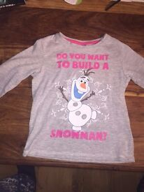 Disney Frozen Do You Want to Build a Snowman Age 3-4 years top