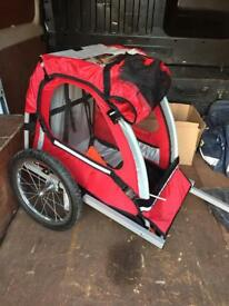Halfords single child bike trailer