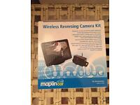Wireless reversing camera from Maplin NEW