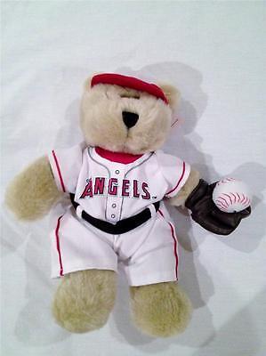 STARBUCKS COFFEE BEARISTA BEAR 2003 Anaheim Angels Teddy Bear NWT HTF