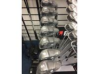 BENROSS MAX SPEED10 5-SW IRONS. REG STEEL SHAFTS. BNIW