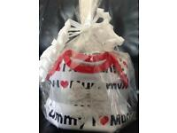 Unisex Mini Nappy Cake With Accessories
