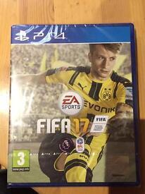 Fifa 17 PS4 new upopened
