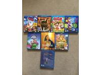 Kids blu Rays and dvd bundle