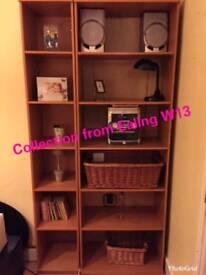Ikea double bookcase