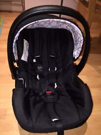 Stroller MyChild Floe Convertible with Car Seat Black 0 to 3 Years