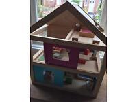 *** SOLD *** Habitat wooden dolls house