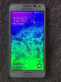 Samsung galaxy Alpha 32GB, EE, virgin, white. Full working.