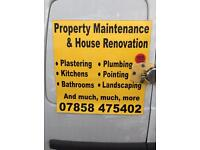 All aspects of property maintenance and renovation - free, no obligation quotes