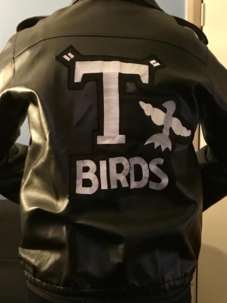 Grease T Bird Jacket Danny Fancy Dress - Medium