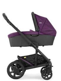 Joie Chrome Pram Stroller Pushchair Carrycot