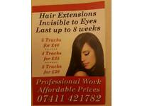 Mobile hair extensions stylist
