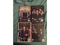 Mr selfridge series 1-4 DVDs