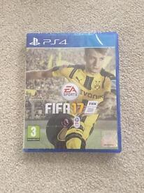 FIFA 17 PS4 new and sealed, sold out in shops