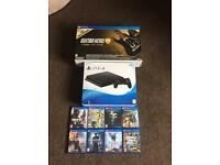 PS4 brand new sealed + 9 Games