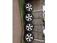 "16"" Volkswagen alloys"