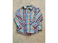 Boys Checked GAP Shirt Age 2 years