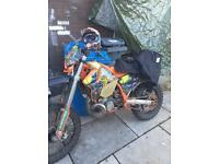 Ktm 250 2stroke animal ! Needs pistions £700 or swaps