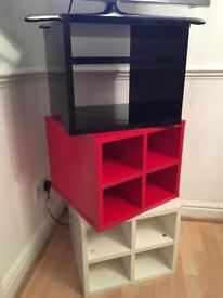 Set of 3 stackable storage box