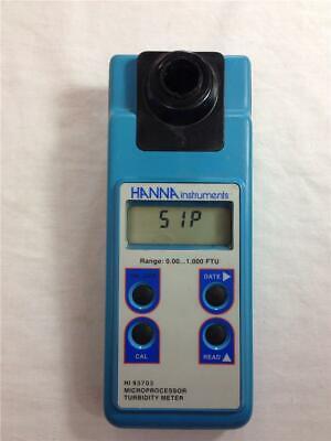 Hanna Instruments Hi93703 Microprocessor Turbidity Meter