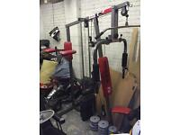 Delta fit multi gym home weights exercise stepper