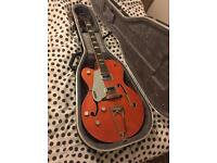 Gretsch G5420 left handed hollowbody electric guitar with hardcase