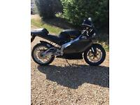 Aprilia rs 125 that has lots of extras and 3 owners from new