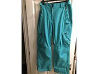 Animal ski trousers size 12