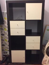 IKEA Kellax shelving unit - excellent condition