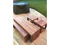 Next solid wood coffee tables and side tables