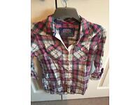 3 ladies Superdry shirts size medium
