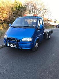 FORD TRANSIT RECOVERY BEAVERTAIL