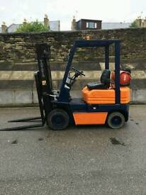 TOYOTA 1.5 TON GAS FORKLIFT TRUCK