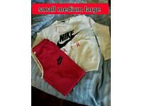 Ladies Nike tracksuits .All sizes.