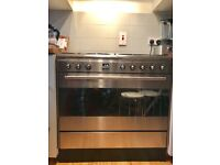 Smeg Range Cooker – Dual Fuel, Stainless Steel – London pick up