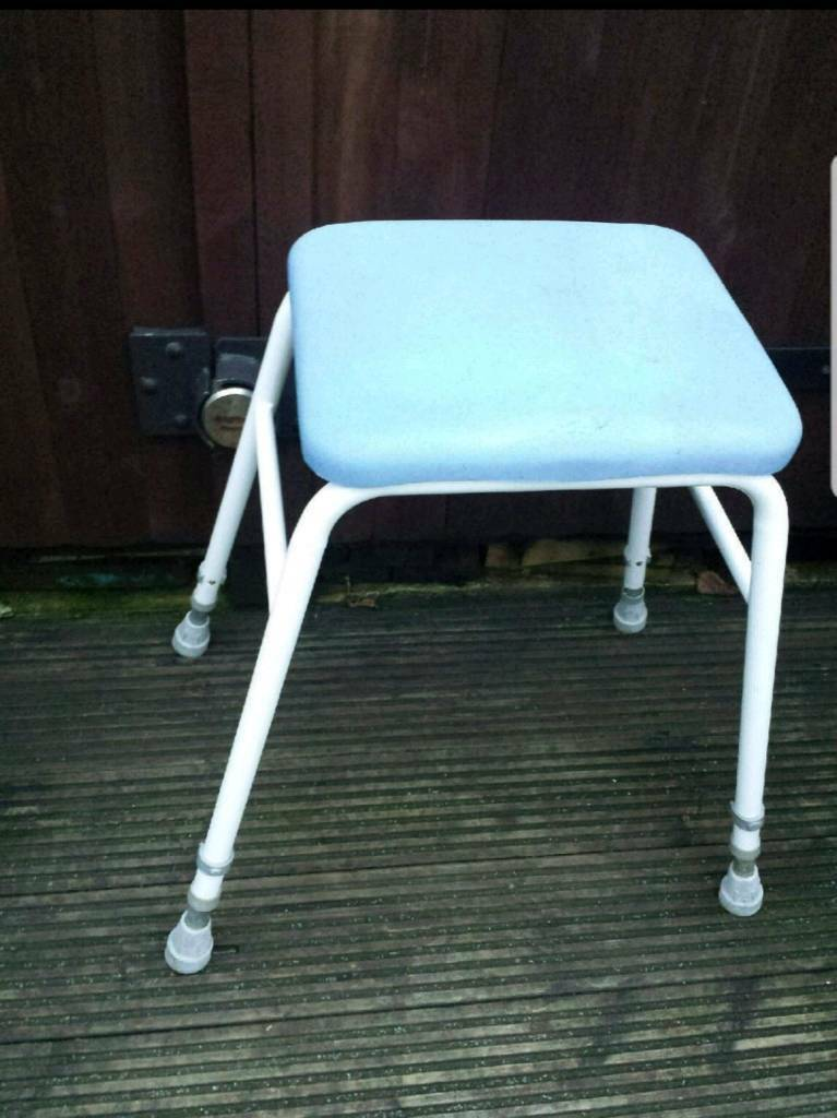 Disability Aid Shower stool Mobility Aid seat Adjustable legs ...