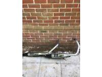 Harley Davidson 48 standard exhaust from 17 reg bike only used for 300miles before upgraded