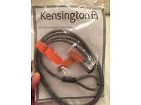 Kensington MicroSaver Security cable for laptops, monitors