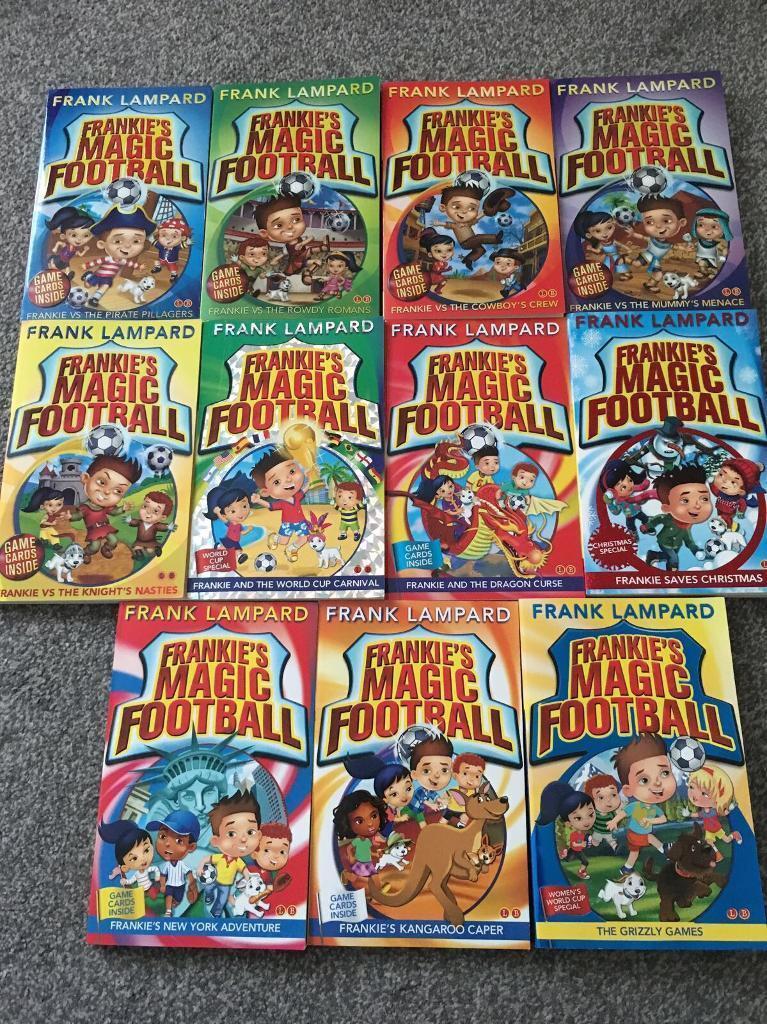 Frankies Magic Football books