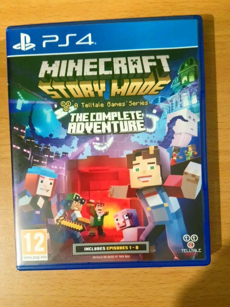PS4 Minecraft Story Mode Complete Edition in mint condition like new | in  Bradford, West Yorkshire | Gumtree