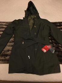North Face Women's Riverdale Trench Triclimate Jacket
